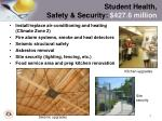 student health safety security 427 6 million