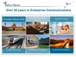 over 50 years in enterprise communications