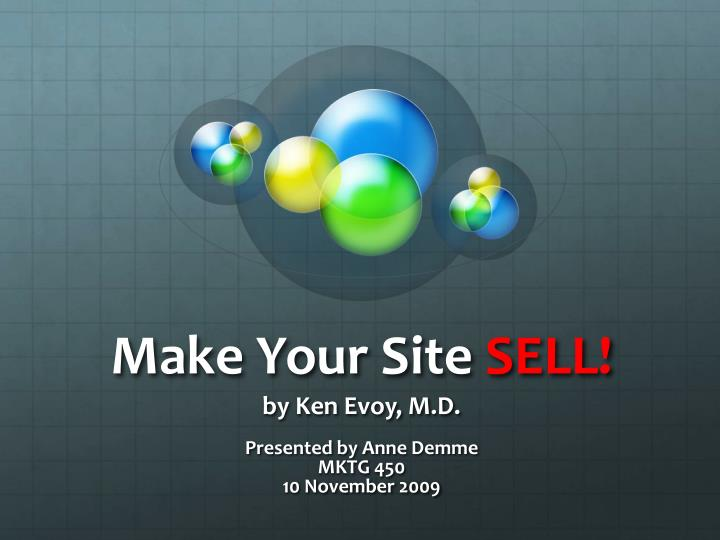 make your site sell n.