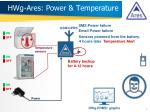 hwg ares power temperature