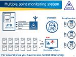 multiple point monitoring system
