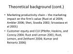 theoretical background cont