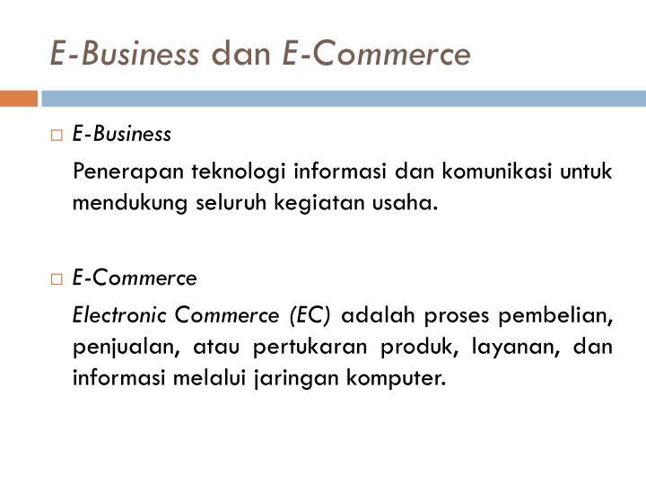 E business dan e commerce1