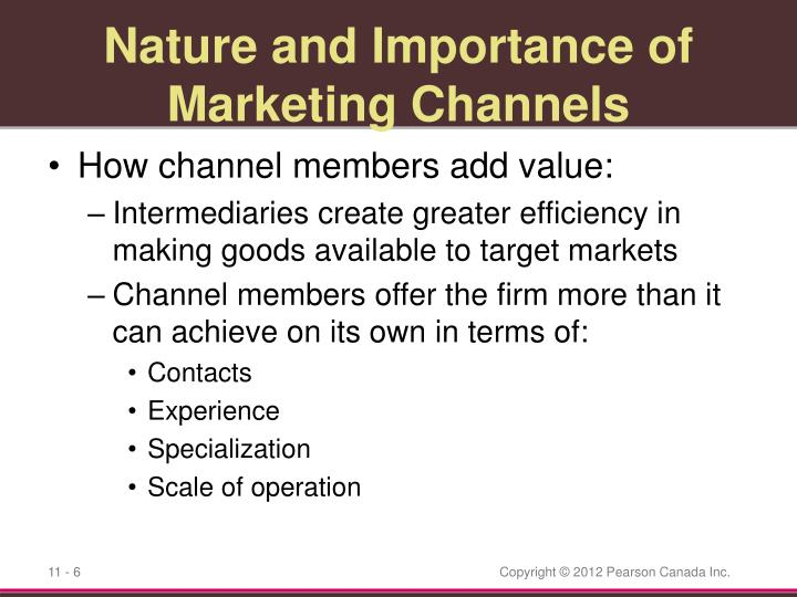 the nature and importance of marketing