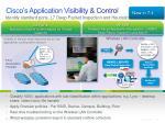 cisco s application visibility control