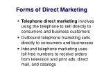 forms of direct marketing3