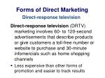 forms of direct marketing4