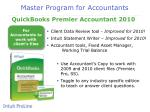 master program for accountants