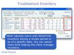 troubleshoot inventory1