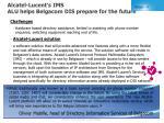 alcatel lucent s ims alu helps belgacom dis prepare for the future