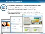 webcast your event