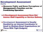 development assessment cont d2