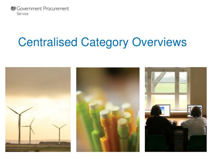 centralised category overviews n.