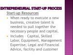 entrepreneurial start up process5