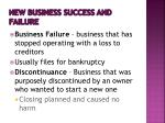 new business success and failure1