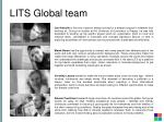 lits global team