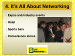 4 it s all about networking