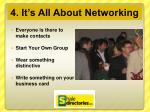 4 it s all about networking1