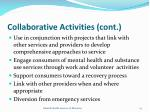 collaborative activities cont