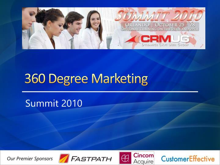 360 degree marketing n.