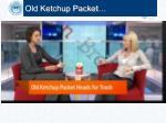 old ketchup packet