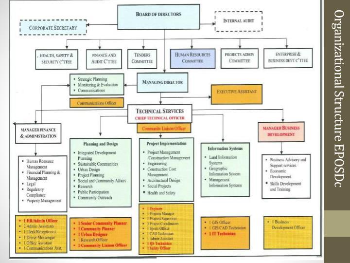 Organizational Structure EPOSDc