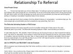 relationship to referral1