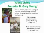 young living founder d gary young