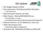 gsi update
