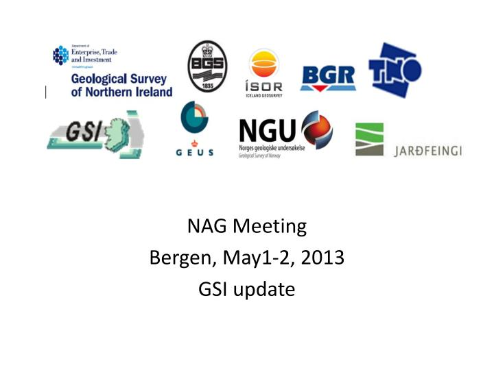 nag meeting bergen may1 2 2013 gsi update n.