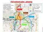full network plan phasing