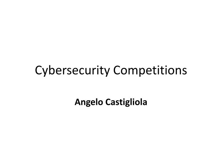 cybersecurity competitions n.