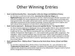 other winning entries