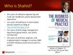 who is shahid