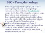 b2c provajderi usluga1