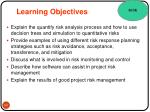 learning objectives13
