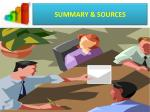 summary sources