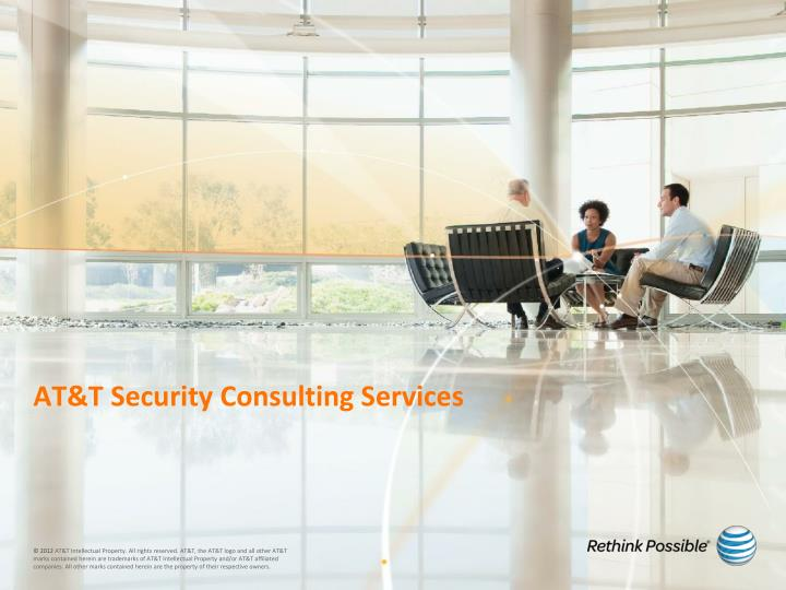 at t security consulting services n.
