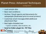 planet press advanced techniques6