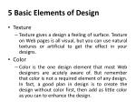 5 basic elements of design1