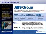 abs group of companies