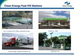 clean energy fast fill stations