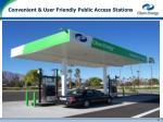 convenient user friendly public access stations