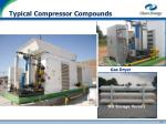 typical compressor compounds