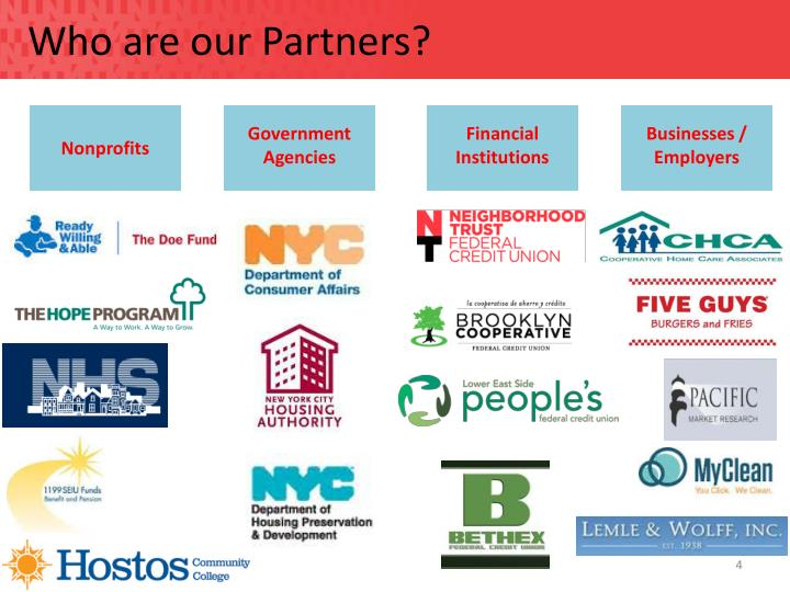 Who are our Partners?