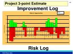 project 3 point estimate