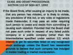 cease and desist proceedings section 11d of sebi act 1992