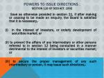powers to issue directions section 11b of sebi act 1992