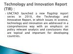 technology and innovation report tir
