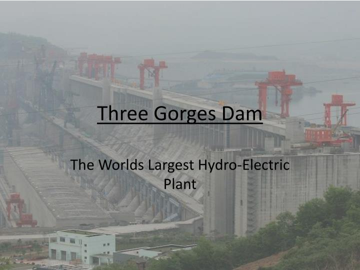 hydroelectric power with bibliography